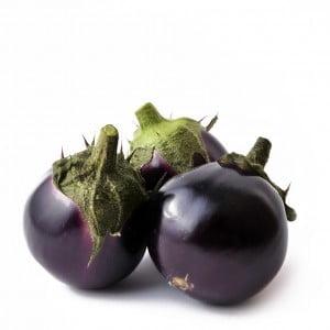 Ei aubergines paars