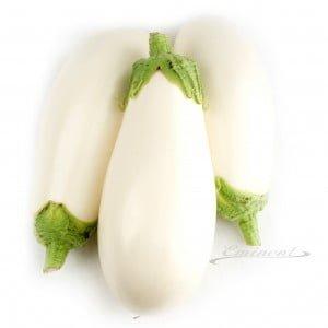 Aubergine wit