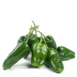 Pepers poblano groen
